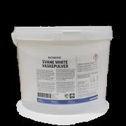 White Svanemerket Vaskepulver, hvitt tøy - 10 kg