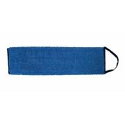 Mikrofibermoppe blå, med borrelås. 30 cm.
