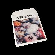 Madame Sanitærpose, hvit med motiv av stein. 500 stk.