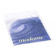 Madame Sanitærpose, hvit med motiv av bølger. 500 stk.